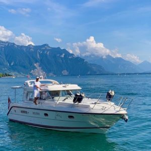our boat - rental Montreux
