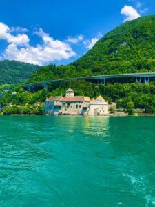 luxury boat rental Montreux